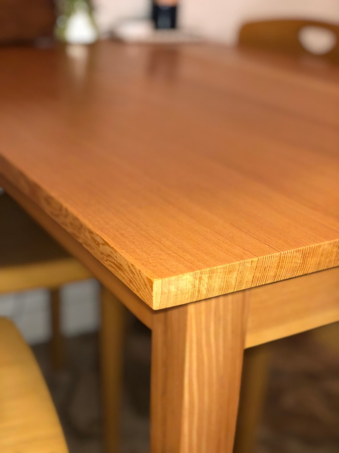 Douglas Fir Kitchen Table