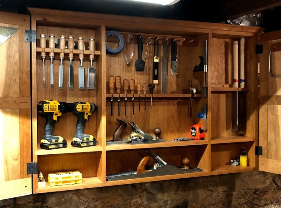 Custom Tool Cabinet